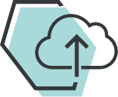 Icon for Powerful, cloud-based platform