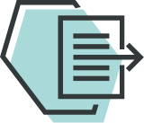 Icon for Up to date with the latest assurance, compliance and reporting standards