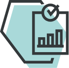 Icon for Integrated knowledge base with helpful tips and regular articles
